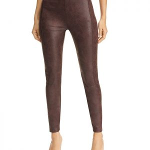 Buffed Faux Leather Leggings