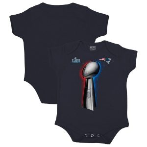 Infant New England Patriots Navy Super Bowl LIII Champions Parade Celebration Bodysuit