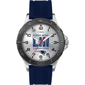 Men's New England Patriots Timex Super Bowl LIII Champions Gamer Watch