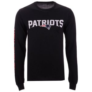 New England Patriots NFL Men's Streak Route Long Sleeve T-Shirt