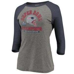 New England Patriots NFL Pro Line by Fanatics Branded Women's Super Bowl LIII Champions