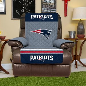 New England Patriots Navy Recliner Protector