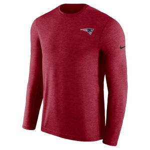 New England Patriots Nike 2018 NFL Men's Coaches Long Sleeve T-shirt