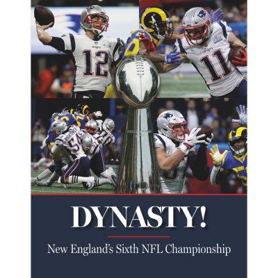 New England Patriots Super Bowl LIII Champions Hard Cover Book