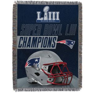 New England Patriots The Northwest Company Super Bowl LIII Champions Throw