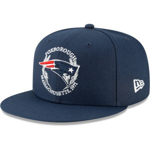 58fa47d263336 New England Patriots New Era Youth 2019 NFL Draft On-Stage 9FIFTY  Adjustable Hat –
