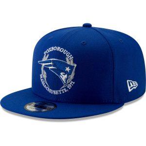 New England Patriots New Era 2019 NFL Draft Spotlight 9FIFTY Adjustable Snapback Hat – Blue