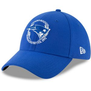 New England Patriots New Era 2019 NFL Draft Spotlight 39THIRTY Flex Hat – Blue