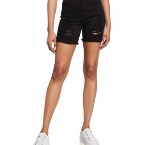 Good American The Cutoffs Shorts –