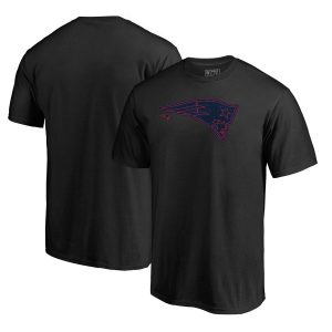 New England Patriots Training Camp Hookup T-Shirt – Black