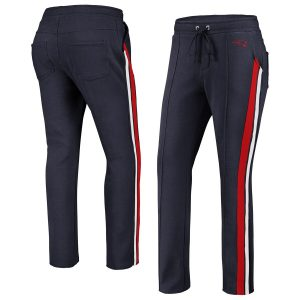 New England Patriots WEAR By Erin Andrews Women's Track Pants – Navy