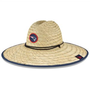 New England Patriots New Era 2020 NFL Summer Straw Hat