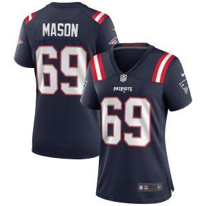 Women's New England Patriots Shaq Mason Nike Navy Game Jersey