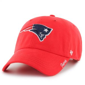 '47 New England Patriots Women's Red Miata Clean Up Secondary Adjustable Hat