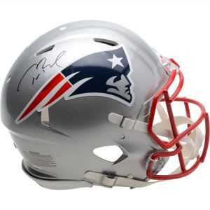 Autographed New England Patriots Tom Brady Proline Speed Helmet