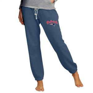 Concepts Sport New England Patriots Women's Navy Mainstream Knit Jogger Pants