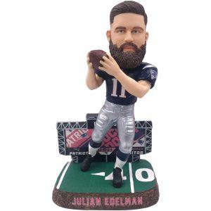 New England Patriots Julian Edelman FOCO Scoreboard Bobblehead