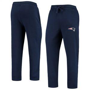 Starter New England Patriots Navy Option Run Fleece Sweatpants