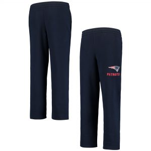 Youth New England Patriots Navy Essential Fleece Pants